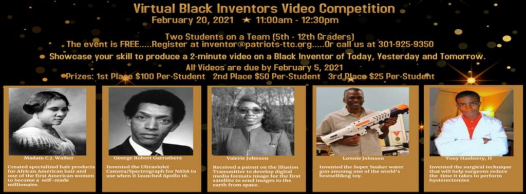 Black Inventors Video Competition