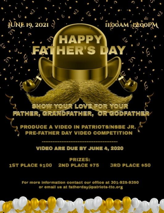 Pre-Father's Day Video Competition